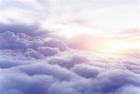 deco porte chambre photo au dessus des nuages poster mer de nuages
