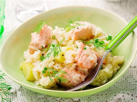 sos recettes cuisine quot risotto quot au saumon à la mijoteuse