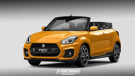 Suzuki Swift Sport Cabriolet Rendered, Will Not Launch