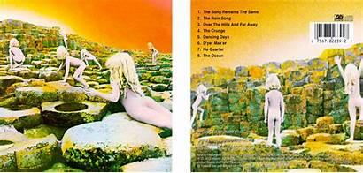 Zeppelin Led Album Covers Ocean Iconic 1973
