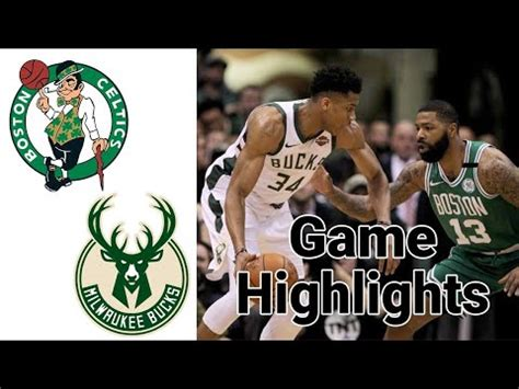 Celtics vs Bucks Highlights | NBA January 16 - YouTube