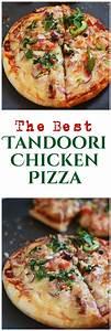 Tandoori Chicken Pizza Recipe-Chicken Tandoori Pizza ...