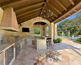 outdoor kitchen pictures and ideas outdoor kitchen designs featuring pizza ovens fireplaces and other cool accessories