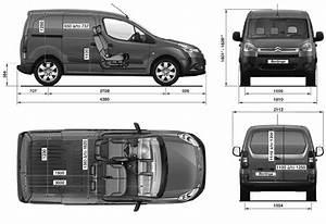 2008 Citroen Berlingo Vu Van Blueprints Free