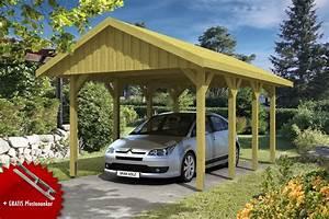 holz carport skanholz sauerland einzelcarport mit With französischer balkon mit garten carport
