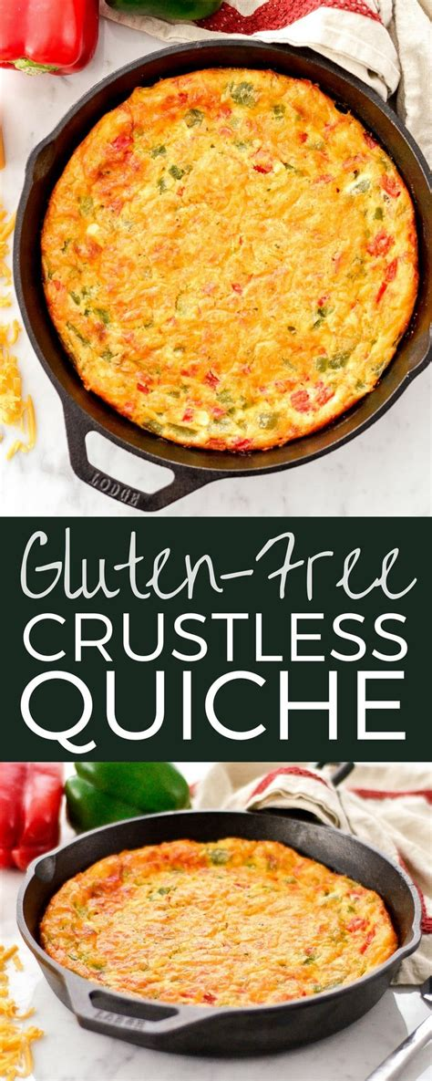 Here are our best breakfast and brunch recipes, focused on keeping mornings wholesome and tasty! This Gluten-Free Crustless Quiche recipe is easy, healthy ...