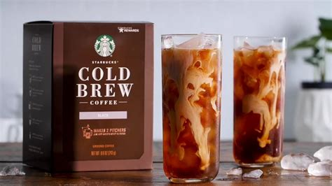Each pitcher pack is filled with a perfectly measured portion of the same blend of latin american and african coffee that is used to make batches of cold brew in starbucks stores. Starbucks at Home - New Cold Brew Coffee Pitcher Packs - YouTube