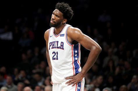 Joel Embiid Posts Update From Hospital Not Good