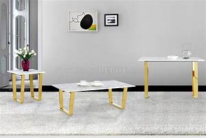 cameron coffee table 212 in gold tone w options by meridian With gold tone coffee table