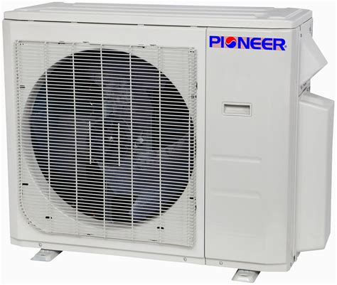 Ductless Ceiling Cassette Mini Split Air Conditioner by 36000 Btu 3 Ton Pioneer Inverter Ceiling Cassette Ductless