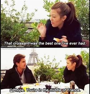 Croissant in paris | TV/Film | Funny, Hilarious, Scott disick