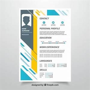 personal profile design templates - personal profile design templates curriculum template