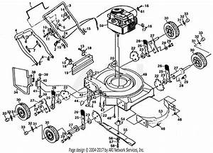 Poulan Pp722sja Mower Parts Diagram For Mower Assembly  Engine B  S 98902