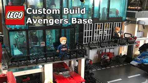 custom lego avengers base life  brick