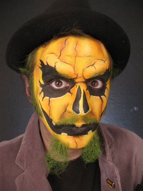 halloween makeup ideas  men