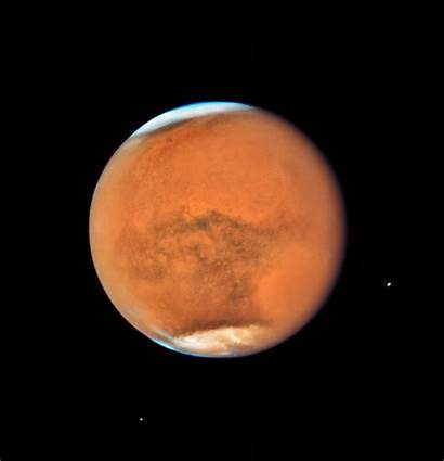 Mars Hubble Telescope Space Saturn Opposition Planet