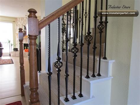 Iron Banisters by High Quality Powder Coated Iron Balusters