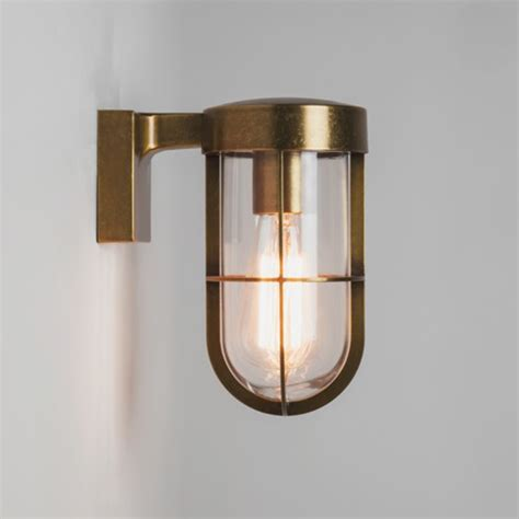 wall lights for cabin astro cabin wall frosted ip44 outdoor wall light