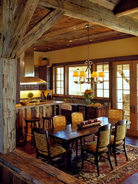 rustic dining room decor 15 warm cozy rustic dining room designs for your cabin