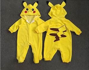 Pokemon Go Toddler Infant Baby Boy Girl Pikachu Outfit ...