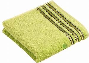 Vossen Handtücher Set : handt cher vossen cult de luxe mit glanzbord re ~ Lateststills.com Haus und Dekorationen