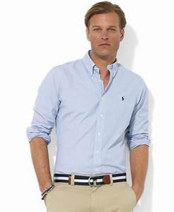 Polo ralph lauren Core Custom Fit Broadcloath Dress Shirt ...