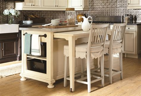 small kitchen island with table space saving kitchen island with pull out table homesfeed