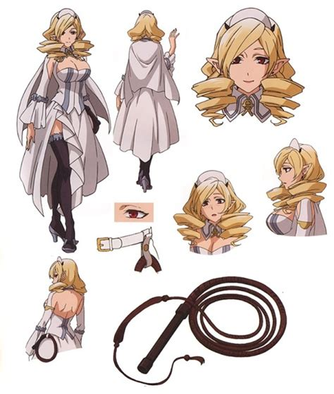 anime reference sheets character settei
