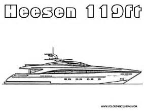 Dessin Bateau Yacht by Coloring Pages Yacht Coloring Home