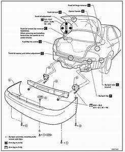 Nissan Sentra Rear Bumper Removal