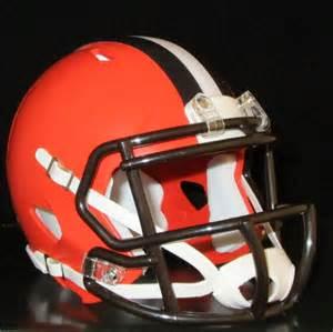 Cleveland Browns New Helmet 2015