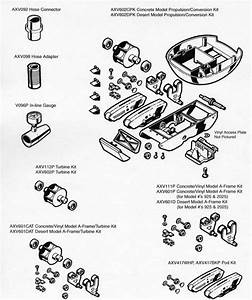 Hayward Pool Cleaner Repair Kits  Parts List