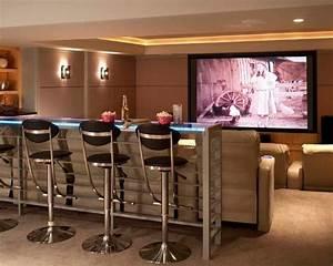 Imagem 18 casa pinterest entertainment room movie for Home theater bar furniture