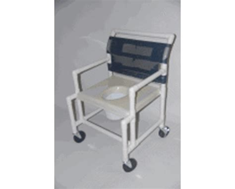 24 quot wide pvc shower chair with vaccum formed seat