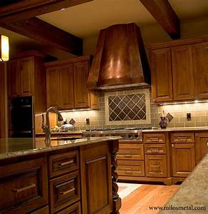 copper kitchen hood traditional kitchen by milo39s With copper kitchen hoods