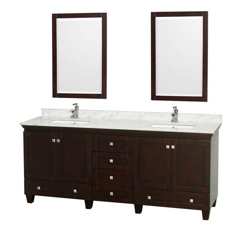 80 inch double sink bathroom vanity wyndham collection wcv800080descmunsm24 acclaim 80 inch
