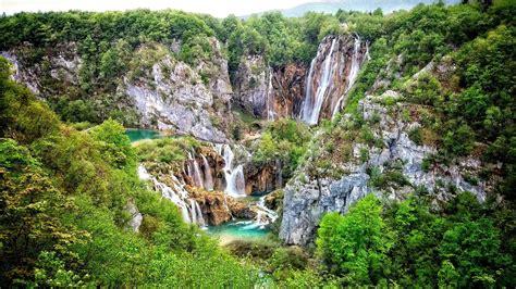 Waterfalls At Plitvice Lakes National Park ⛰️ 4k Ultrahd