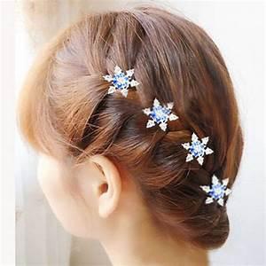 3pcs Hot Female Lady Girls Bride Princess Snowflake