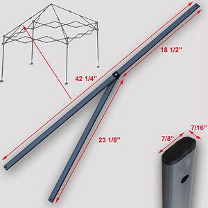 quik shade expedition  instant canopy  peak truss bars replacement parts ebay
