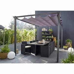 Tonnelle Terrasse : tonnelle pergola toiture de terrasse au meilleur prix ~ Melissatoandfro.com Idées de Décoration