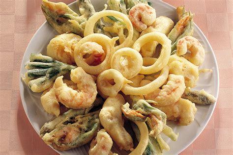 pesci cucina ricetta fritto misto di pesci e verdure la cucina italiana