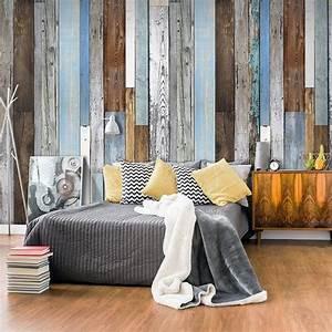 Papier Peint Deco : papier peint d co effet bois vintage papier peint ~ Voncanada.com Idées de Décoration