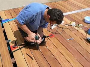 Realiser Un Plancher Bois : une terrasse bois en palettes bricobistro ~ Dailycaller-alerts.com Idées de Décoration