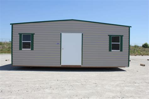 10x20 Metal Storage Shed by Storage Shed 10 X 20 With Green Trim Buildings
