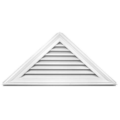 decorative gable vents home depot fypon 12 in x 24 in x 2 in polyurethane decorative