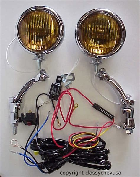 1950 Cadillac Reproduction Wiring Harnes by Fog Lights Chevy Hudson Nash Buick Oldsmobile Pontiac