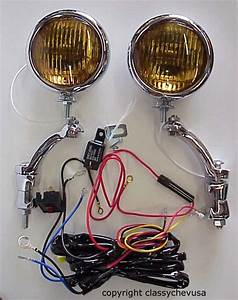 Fog Lights Chevy Hudson Nash Buick Oldsmobile Pontiac