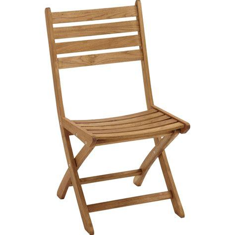 chaise en bois pliante lot de 2 chaises de jardin en bois robin naturel leroy
