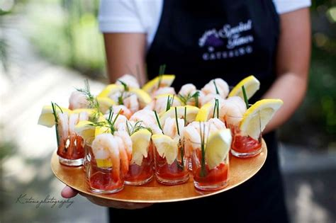 bring   minis  mini wedding appetizers