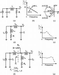 A  Series Inductive Peaking Circuit   B  Frequency